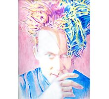 Robert In Pink And Blue Photographic Print