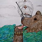 Bear at Sea by AshleyCatherine