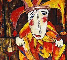 """Lonely clown""  by Elin Bogomolnik"