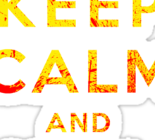 Keep Calm and Kill Bill Sticker