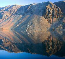 Wasdale Lake Screes 4 ~ January 2010 by Jan Fialkowski