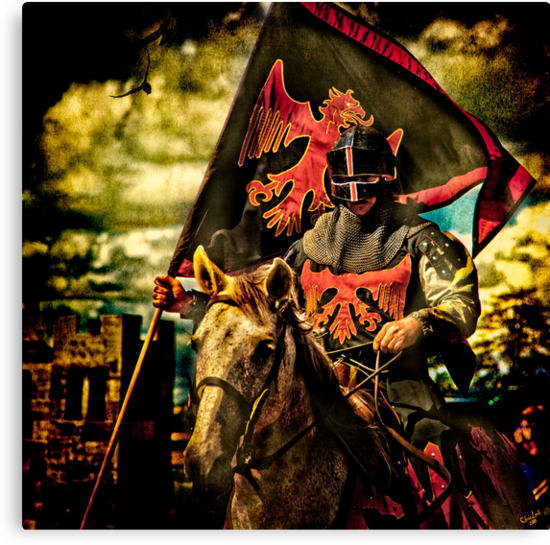 The Red Knight Rides Forth by Chris Lord