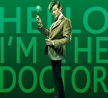 Hello I'm the Doctor by greatperhaps