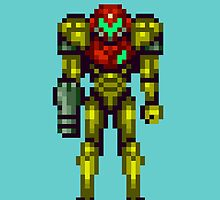 super metroid samus by 1up Apparel