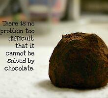 Chocolate - greeting card by Scott Mitchell