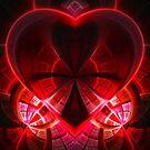 heart / red by Benedikt Amrhein