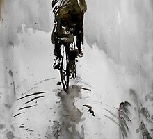 the cyclist by Loui  Jover