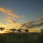 Sunset 'Willow Bend' Manilla NSW by jphenfrey