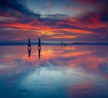 colorful sunset by helminadia