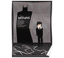 Batman 1989 - Saul Bass Inspired Poster Poster