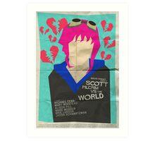 Scott Pilgrim Verses The World - Saul Bass Inspired Poster Art Print