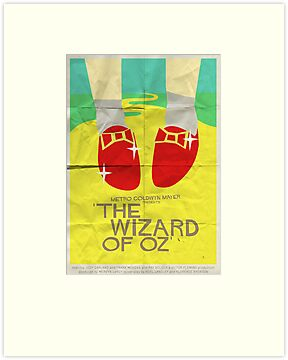 Wizard Of Oz - Saul Bass Inspired Poster by Alex Clark