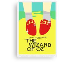Wizard Of Oz - Saul Bass Inspired Poster (Untextured) Canvas Print
