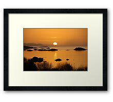 Pure gold - Kenmare, Ireland Framed Print