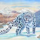 Snow Leopard by Redbarron