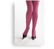 Glamour legs 4 Canvas Print