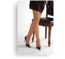 Glamour legs 12 Canvas Print