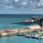 Tenby Harbour Pembrokeshire 13 by Steve Purnell