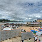 Tenby Harbour Pembrokeshire 15 by Steve Purnell
