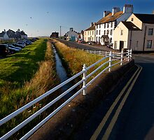 Allonby, Looking North Towards Silloth by Jan Fialkowski