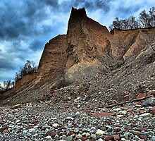 """ Fair Haven Bluffs - Sterling, NY "" by DeucePhotog"