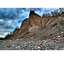 """"""" Fair Haven Bluffs - Sterling, NY """" Photographic Print"""