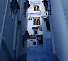 Chefchaouen Blue by Camilla