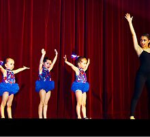 Dancing on stage at nearly 4 years old. by ronsphotos