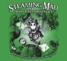 Steaming Mad Boiler Repair Kids Clothes