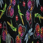 Dragonfly Grasshoppers Butterflies iPhone 4/4S Case by purplesensation