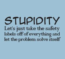 Stupidity by digerati
