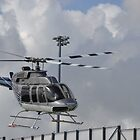 Bell UH-13H Taking Off by anorat