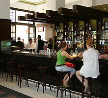 Hemingway's Favourite Bar  by Maggie Hegarty
