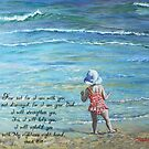 Stepping Out Into the Unknown Isaiah 41:10 by Janis Lee Colon