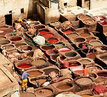 Fes Tanneries by Camilla