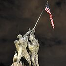 Iwo Jima Memorial - U.S. Marine Corps War Memorial by LESpiker