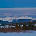 March - Evening view by bberwyn