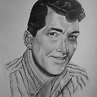 "Dean Martin ""King of Cool"" - Pencil Sketch by Anthony Superina"