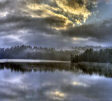 Embers Of Our Souls - Narrabeen Lakes - The HDR Experience by Philip Johnson