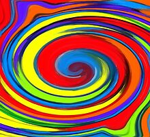 Rainbow Swirl by ChrisButler