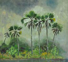 Zambezi Ilala's by Gigi Guimbeau