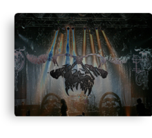 Danzig live in Plastic Canvas Print