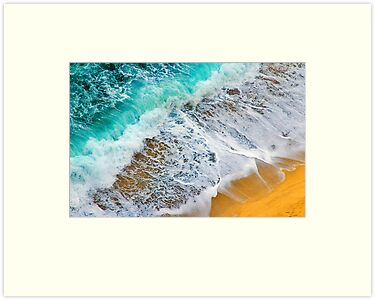 Waves abstract by Silvia Ganora