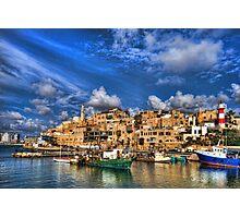The old port, Jaffa Photographic Print
