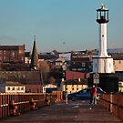 Maryport Harbour Viewed From The Pier by Jan Fialkowski