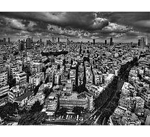 Tel Aviv retro lookout Photographic Print
