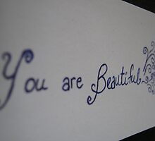 You are Beautiful by Amanda McHady