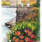 Bellagio on Lake Como by Dai Wynn