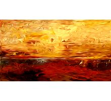 Abstract Colors Oil Painting #10 Photographic Print