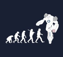Evolution of a Robot  by Rajee